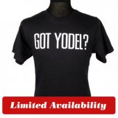 Got Yodel? Black Tees